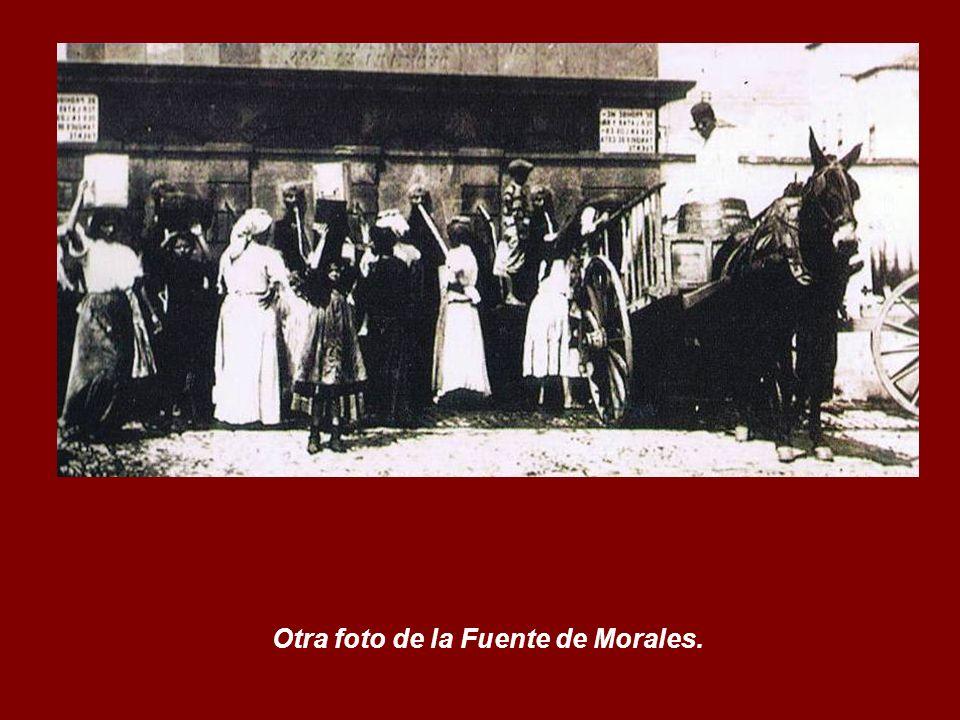 Otra foto de la Fuente de Morales.