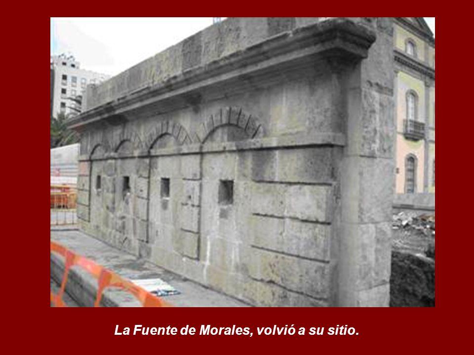La Fuente de Morales, volvió a su sitio.