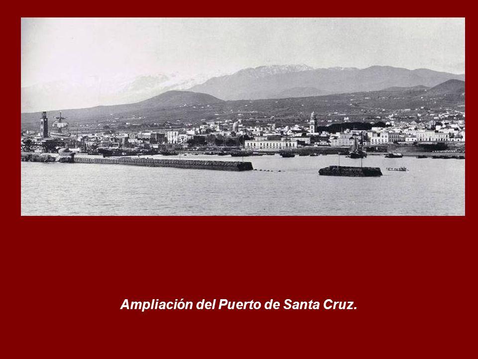 Ampliación del Puerto de Santa Cruz.