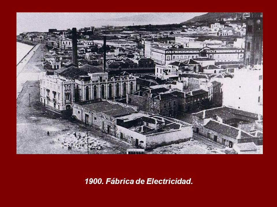 1900. Fábrica de Electricidad.