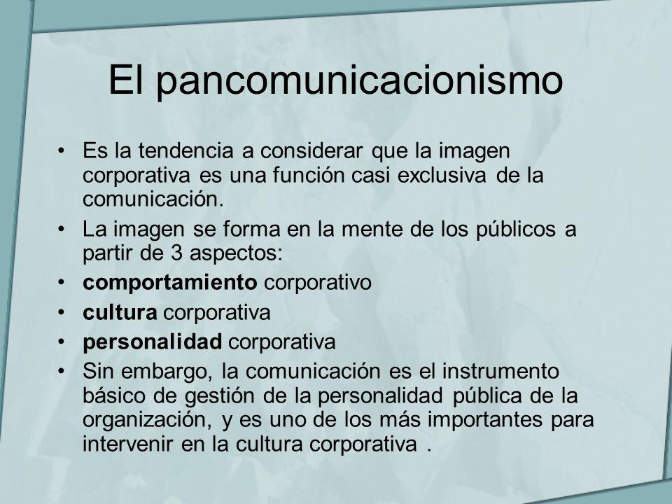 El pancomunicacionismo