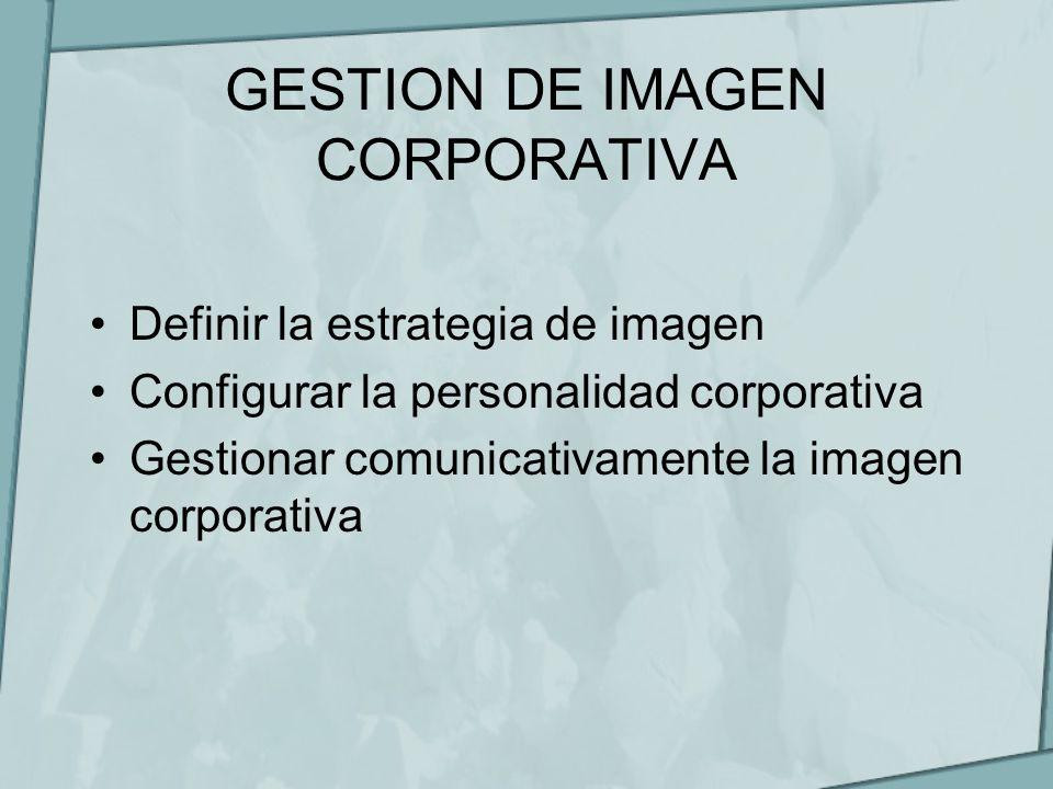 GESTION DE IMAGEN CORPORATIVA