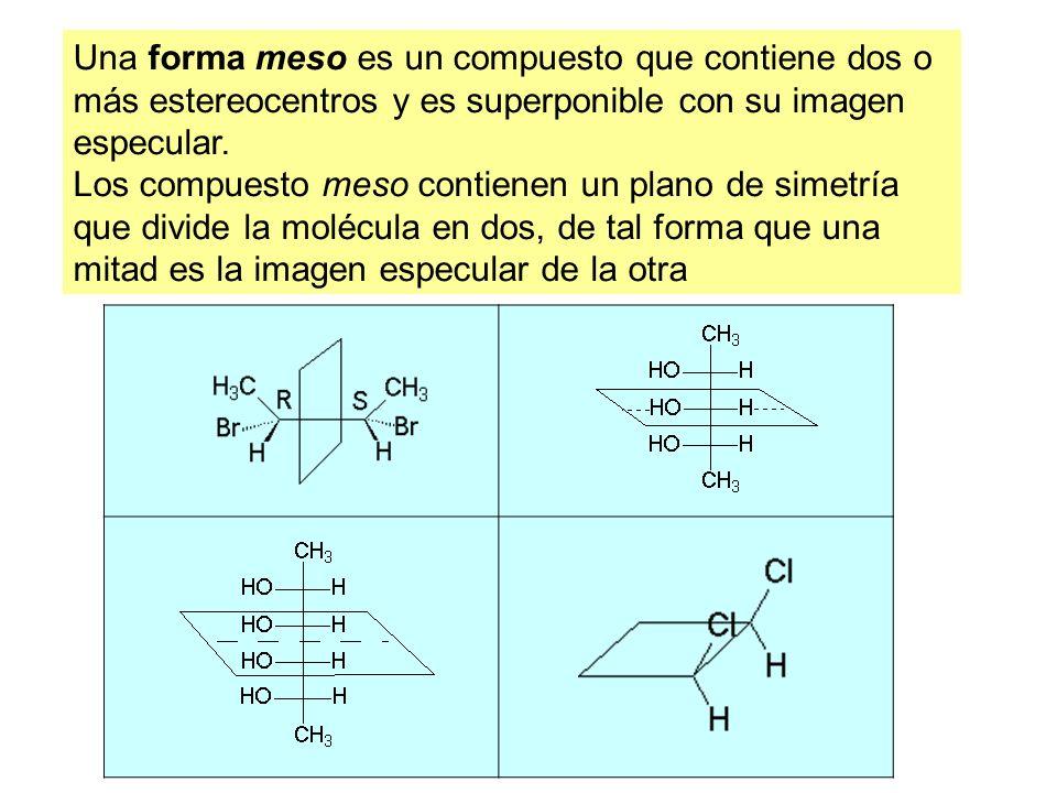 Resultado de imagen de La relación entre una molécula y su imagen especular no superponible es de enantiómeros.