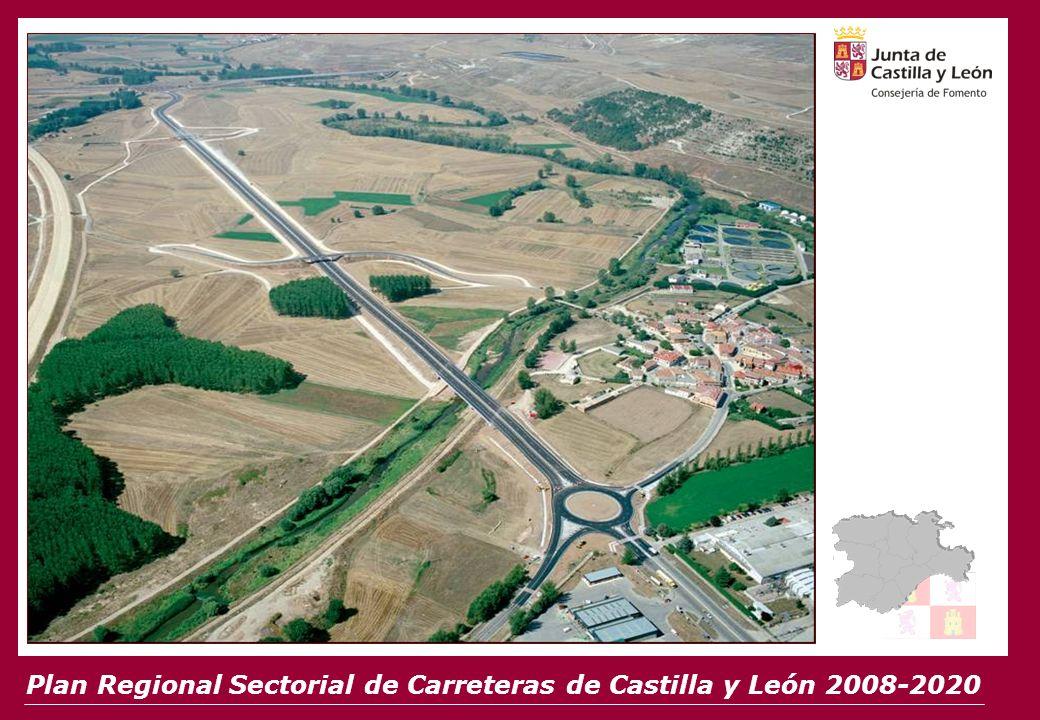 Plan Regional Sectorial de Carreteras de Castilla y León 2008-2020