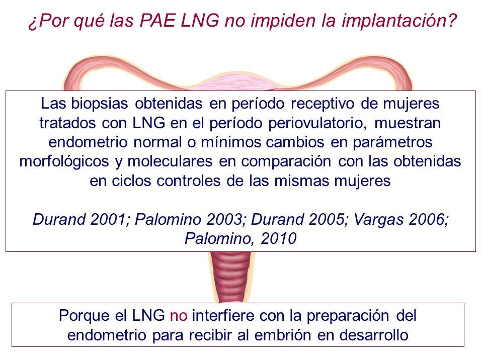 ¿Por qué las PAE LNG no impiden la implantación