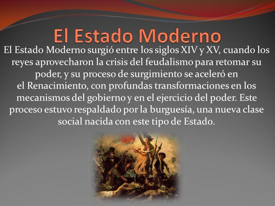 El Estado Moderno