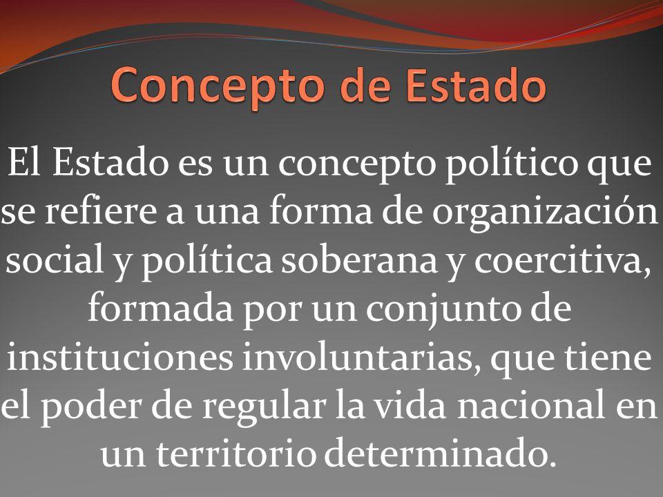 Concepto de Estado