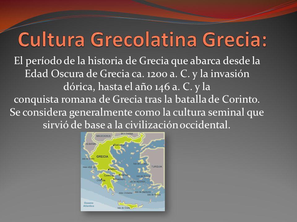 Cultura Grecolatina Grecia: