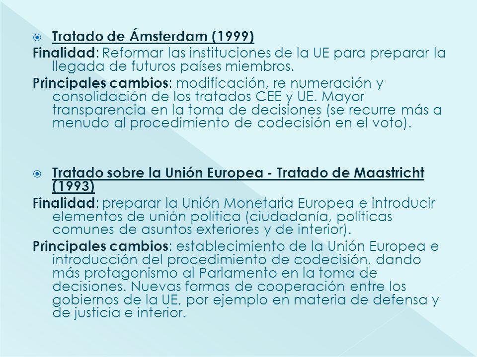 Tratado de Ámsterdam (1999)
