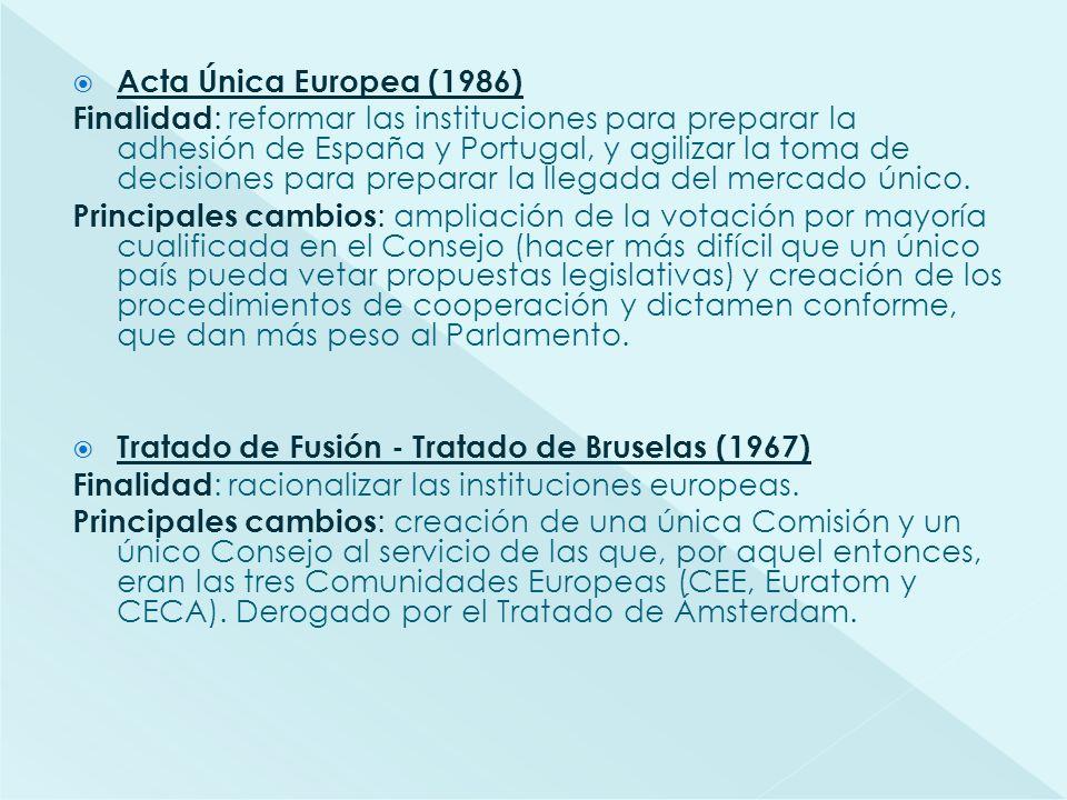Acta Única Europea (1986)