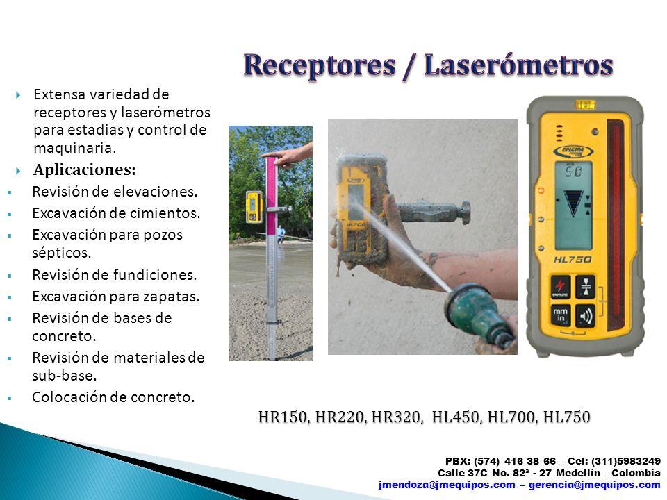 Receptores / Laserómetros