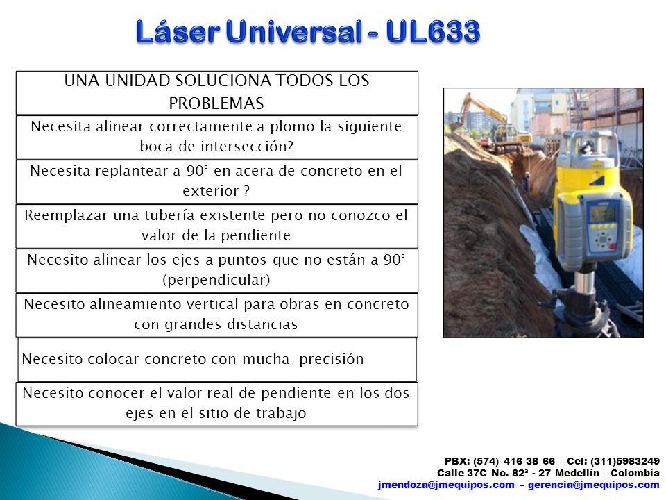 Láser Universal - UL633 UNA UNIDAD SOLUCIONA TODOS LOS PROBLEMAS