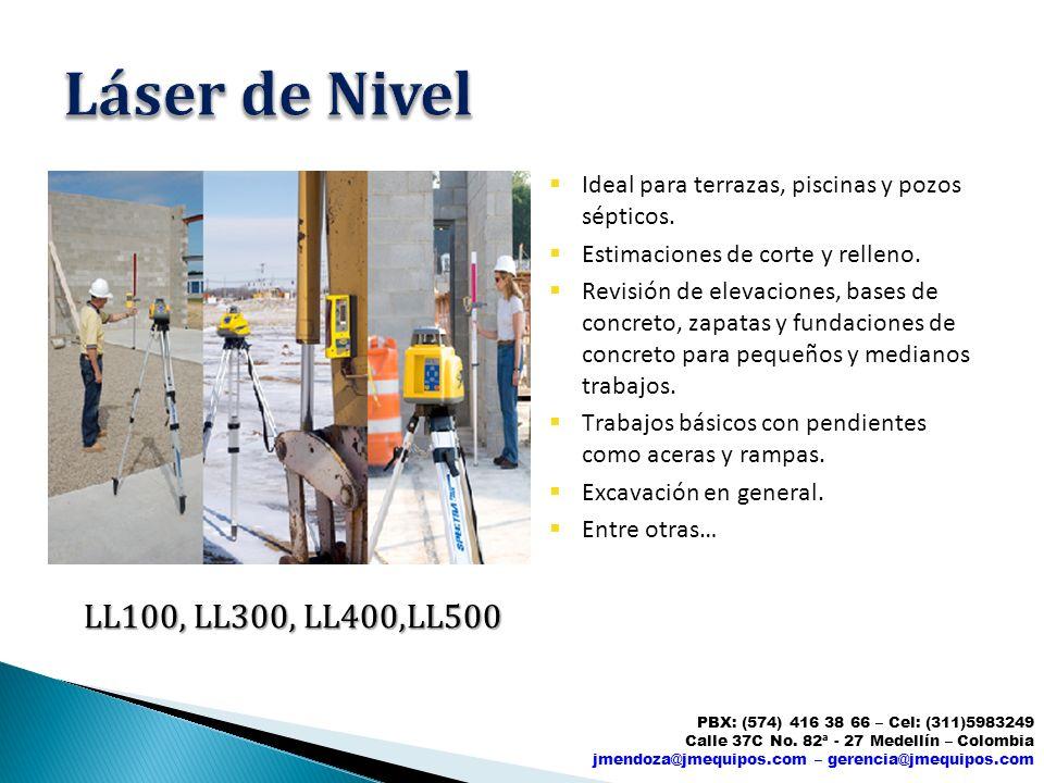 Láser de Nivel LL100, LL300, LL400,LL500