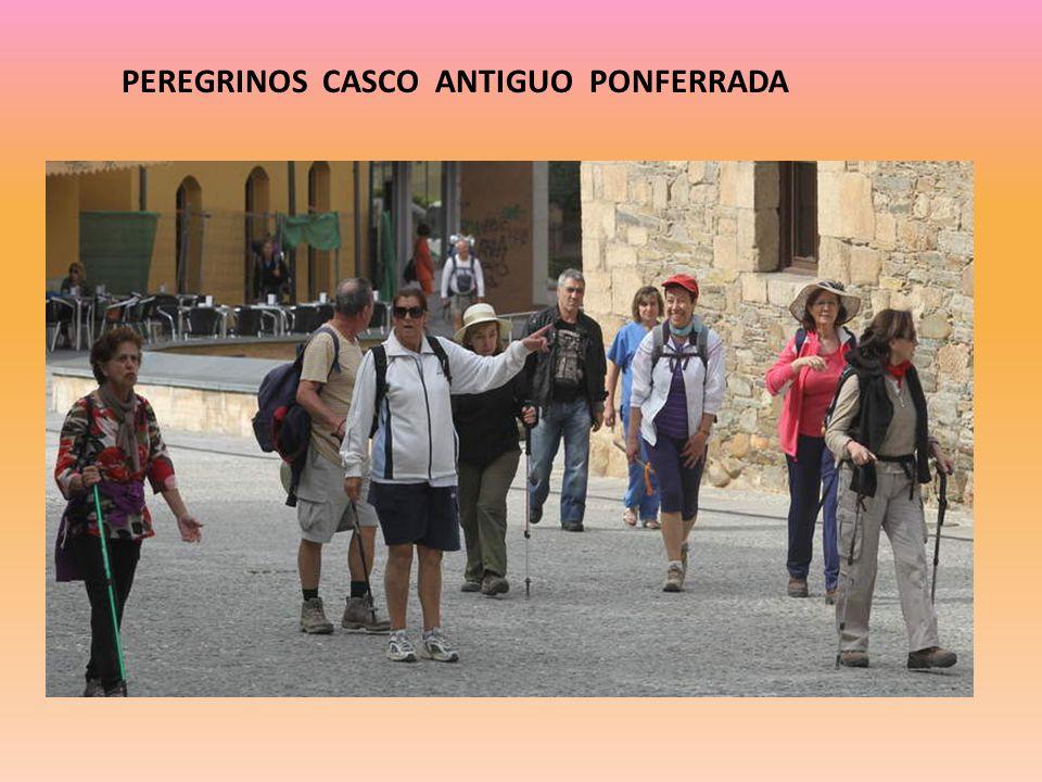 PEREGRINOS CASCO ANTIGUO PONFERRADA