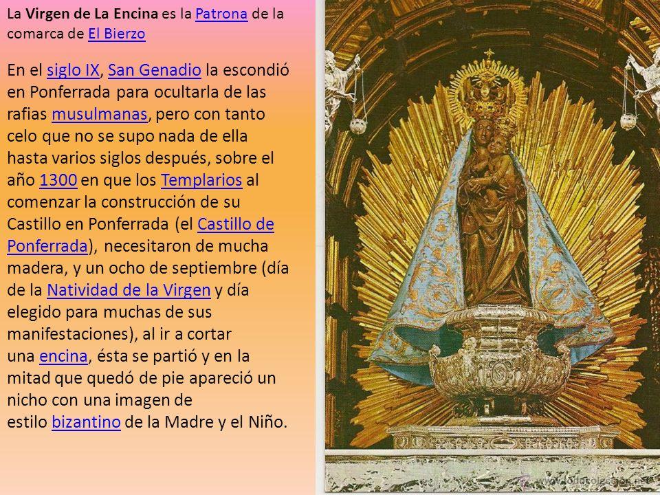 La Virgen de La Encina es la Patrona de la comarca de El Bierzo