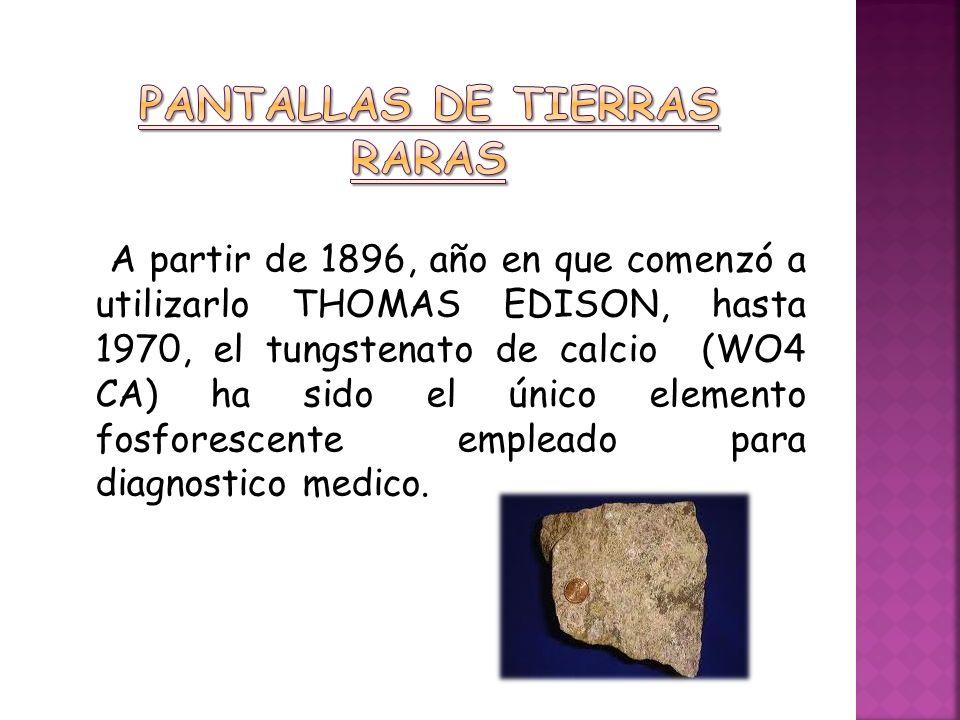 PANTALLAS DE TIERRAS RARAS