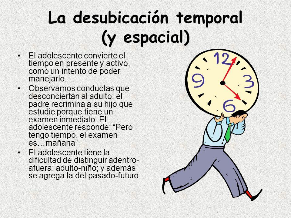 La desubicación temporal (y espacial)