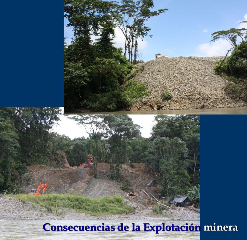 Consecuencias de la Explotación minera