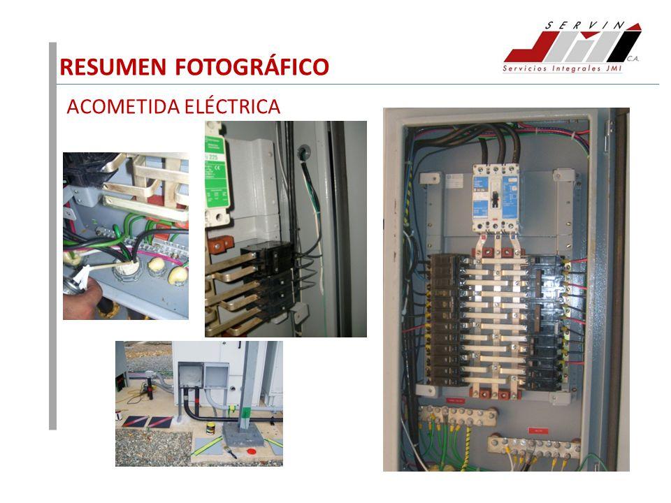 RESUMEN FOTOGRÁFICO ACOMETIDA ELÉCTRICA