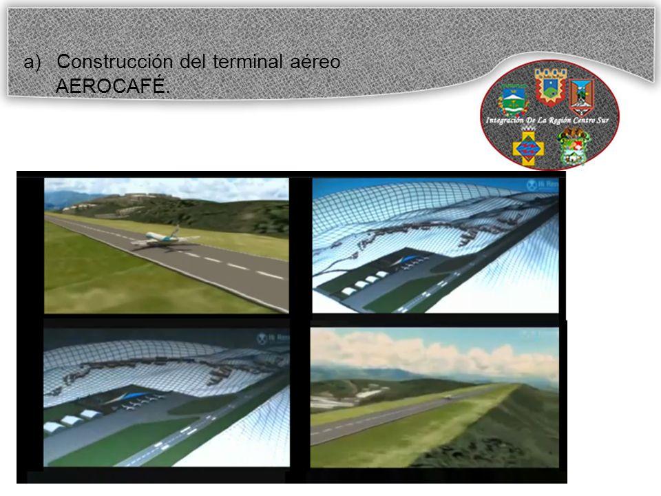 Construcción del terminal aéreo
