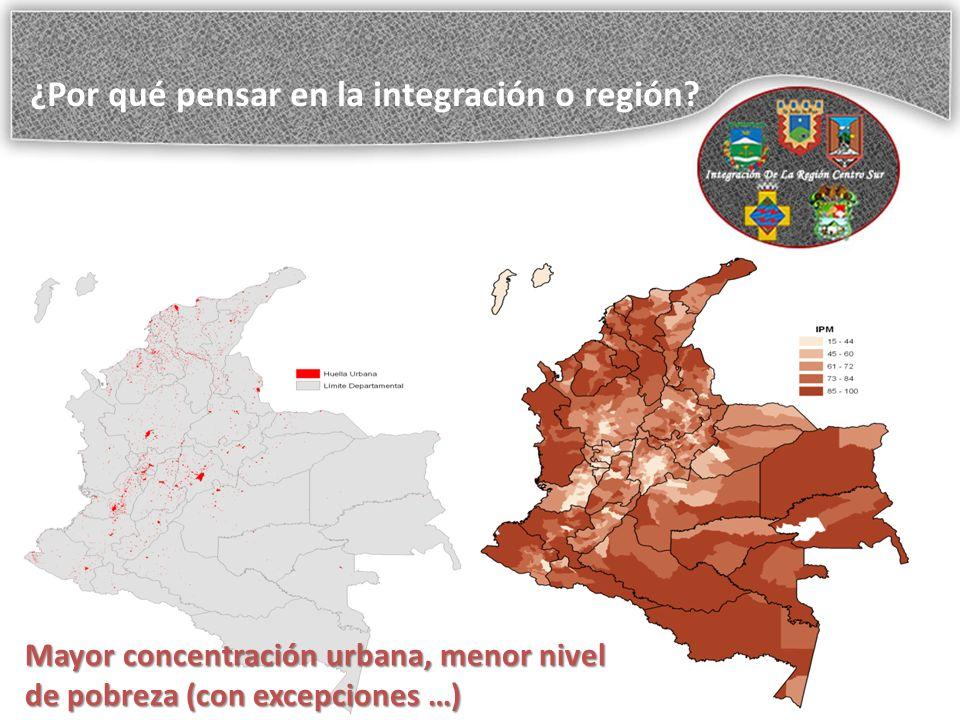 ¿Por qué pensar en la integración o región