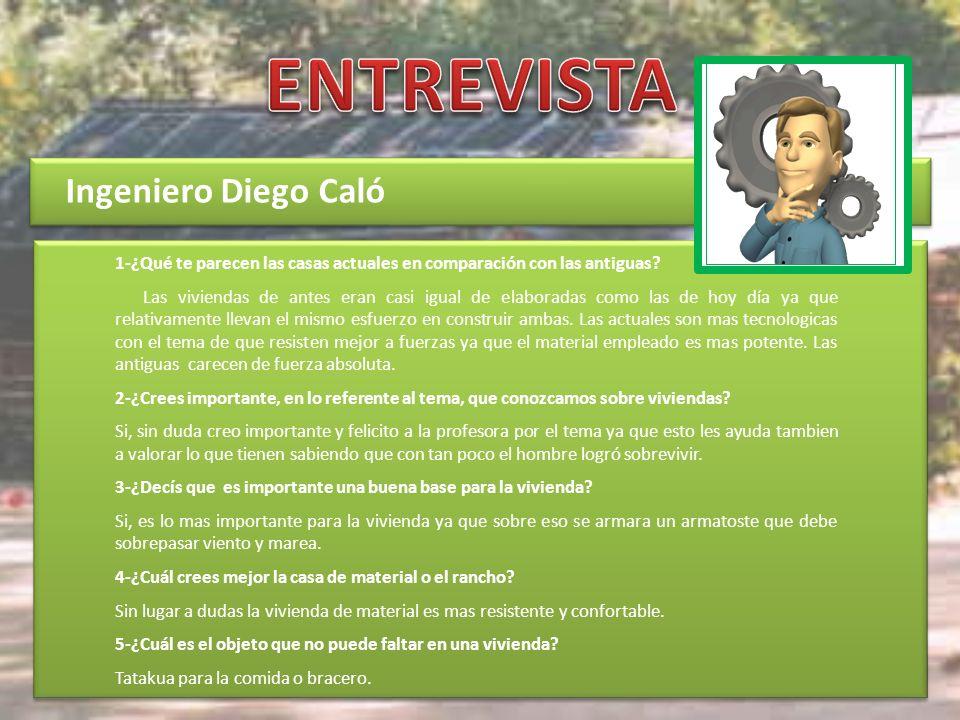ENTREVISTA Ingeniero Diego Caló