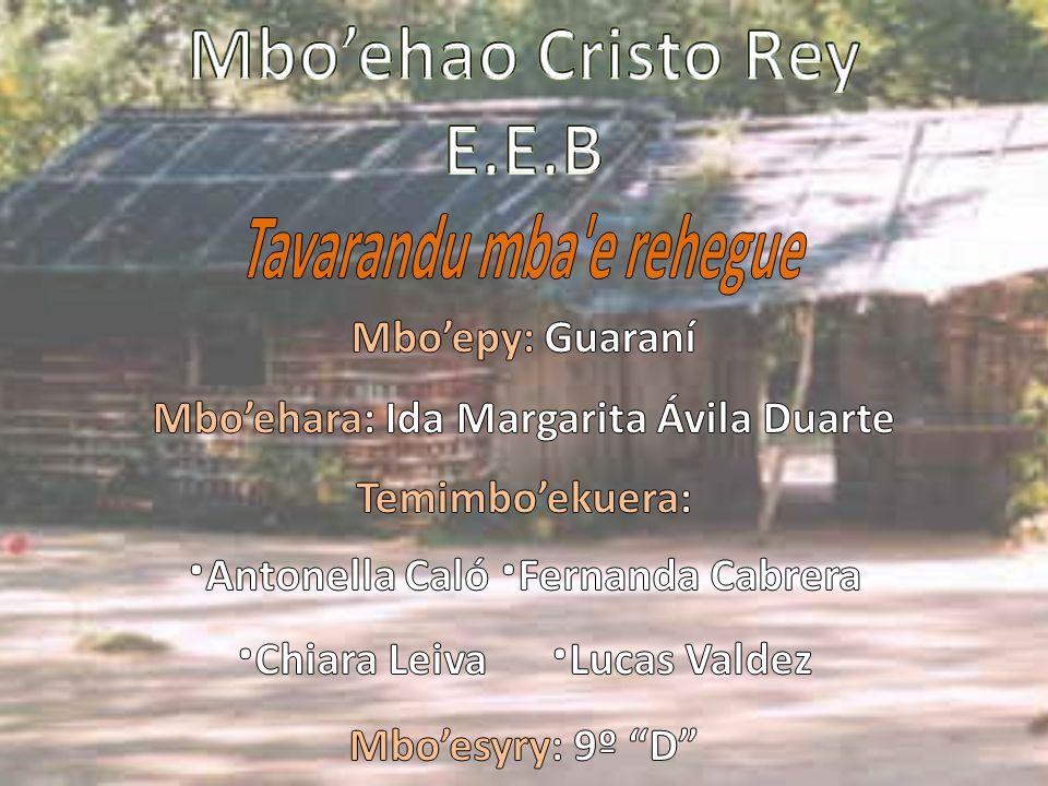 Mbo'ehao Cristo Rey E.E.B