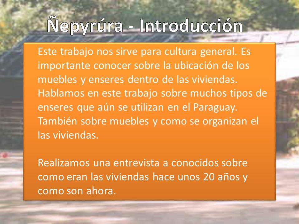 Ñepyrúra - Introducción