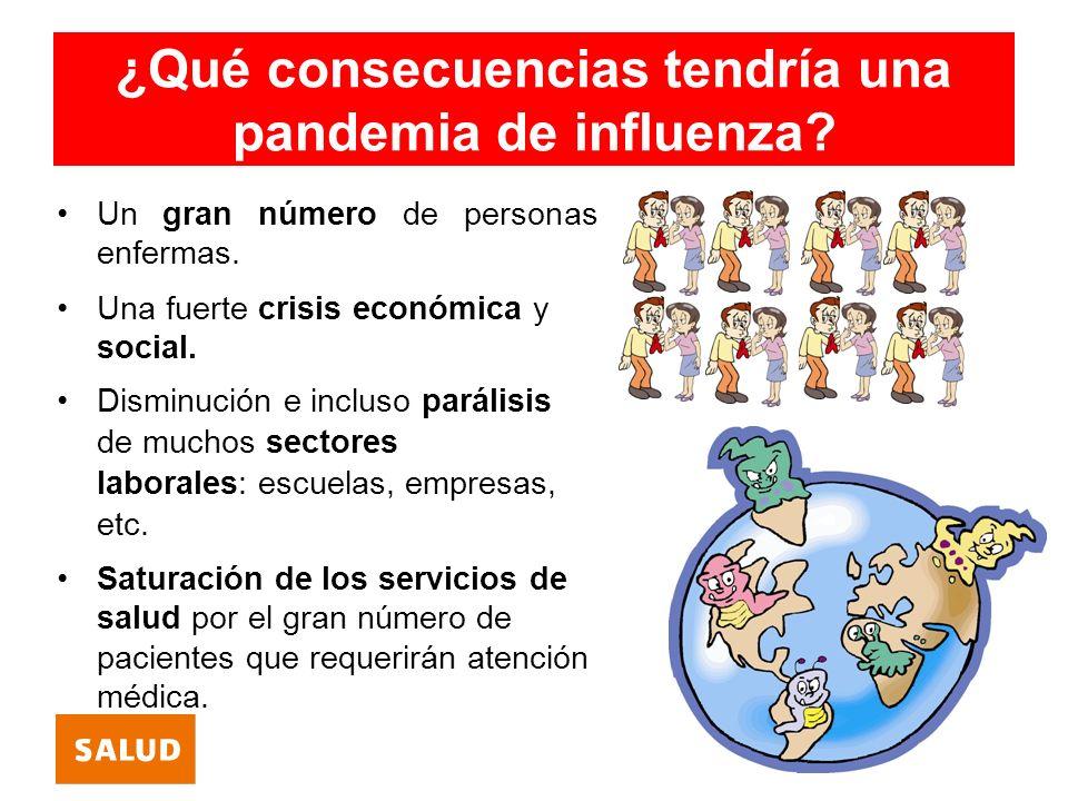 ¿Qué consecuencias tendría una pandemia de influenza