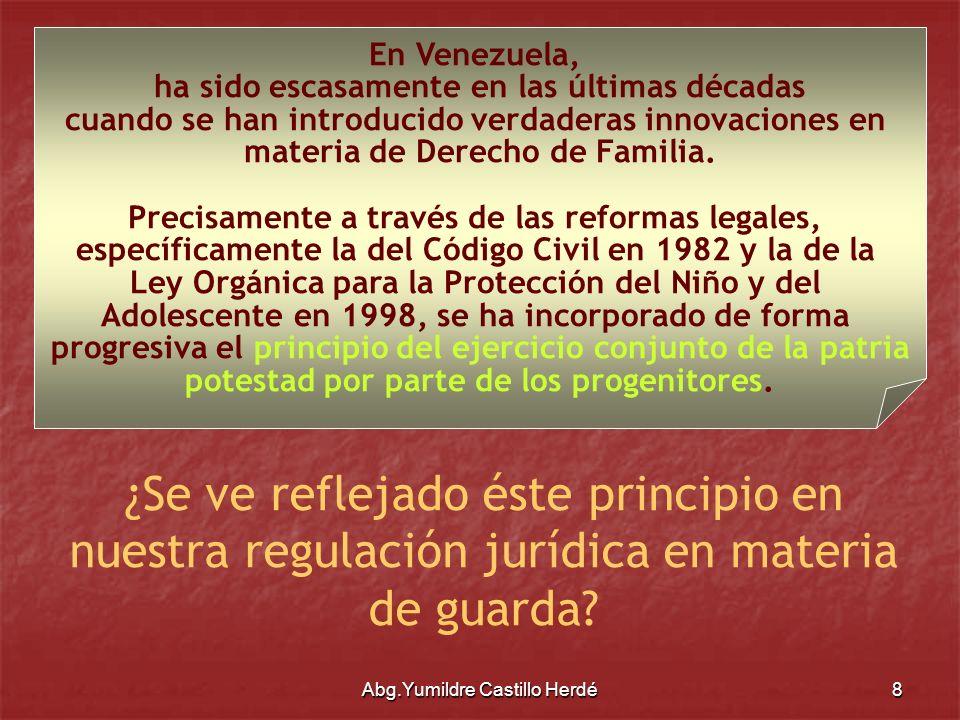En Venezuela,ha sido escasamente en las últimas décadas. cuando se han introducido verdaderas innovaciones en.