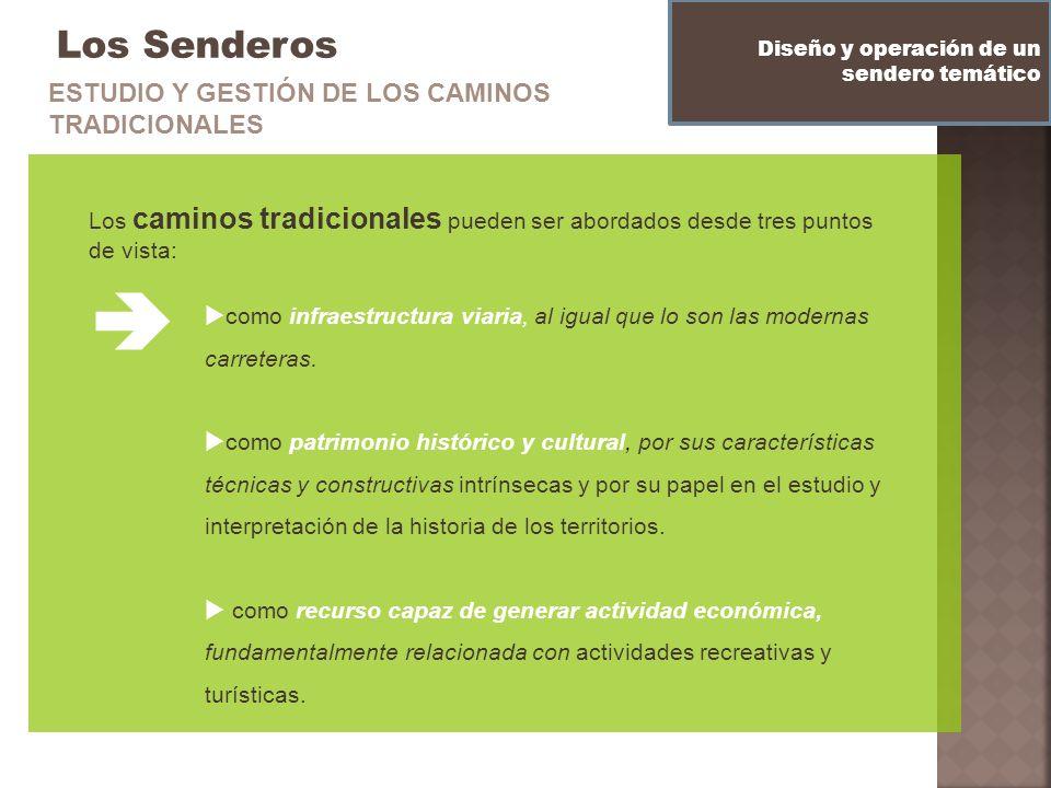  Los Senderos ESTUDIO Y GESTIÓN DE LOS CAMINOS TRADICIONALES