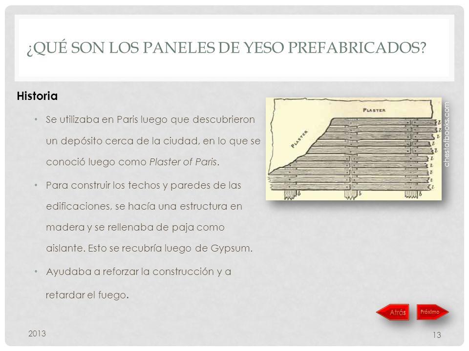 ¿Qué son los paneles de yeso prefabricados