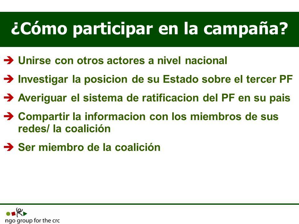 ¿Cómo participar en la campaña