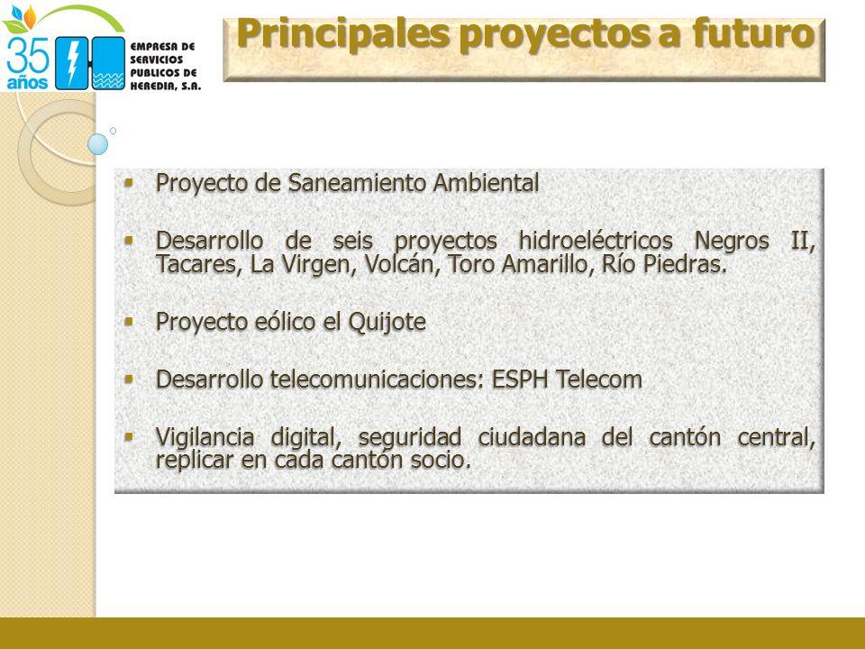 Principales proyectos a futuro
