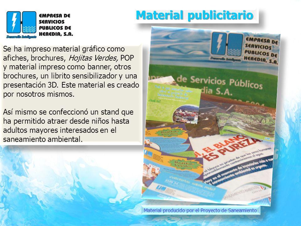 Material publicitario