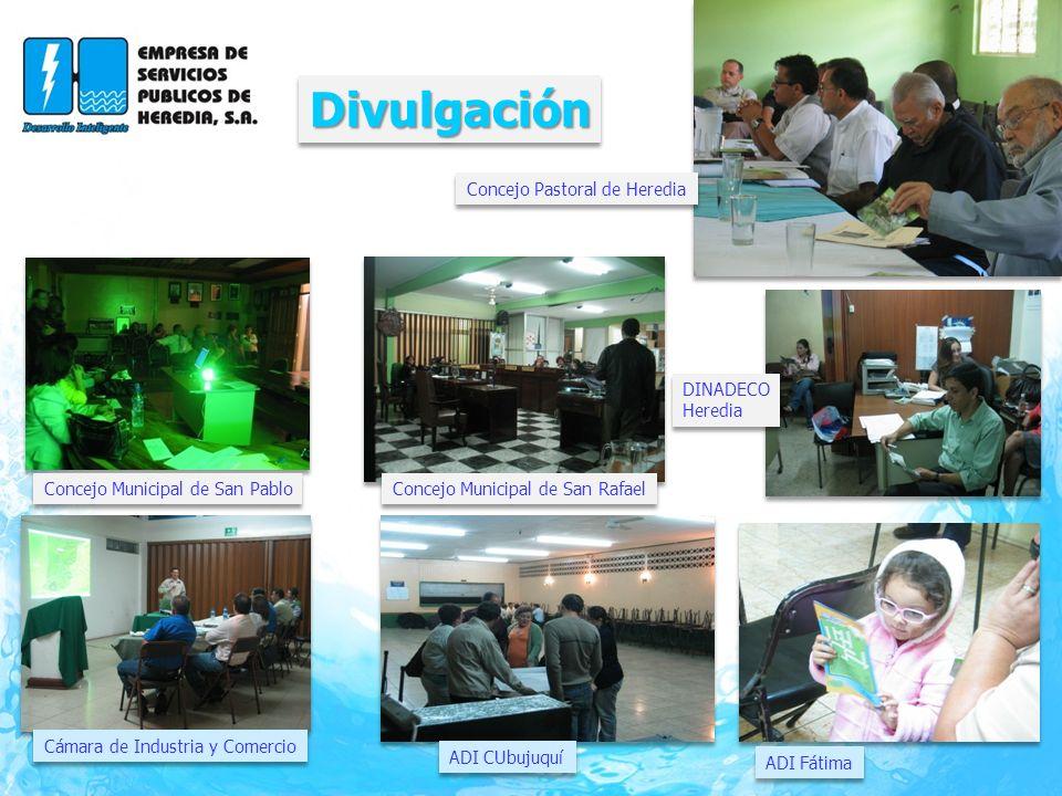 Divulgación Concejo Pastoral de Heredia DINADECO Heredia