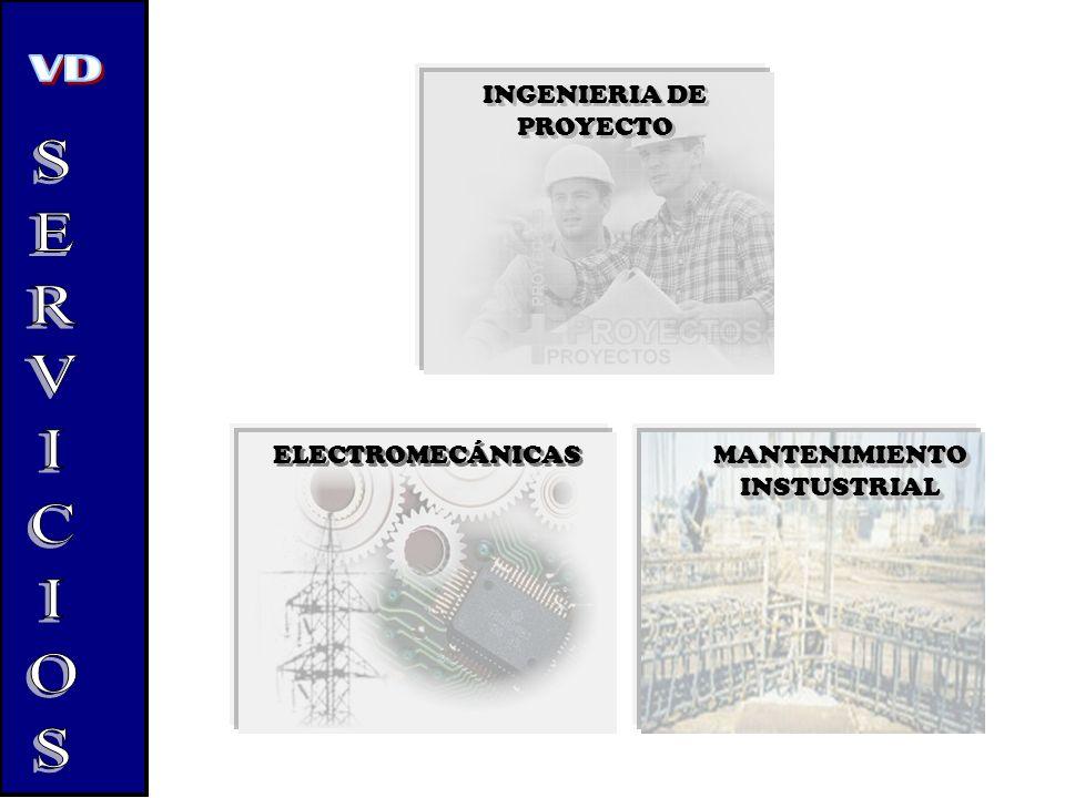 SERVICIOS INGENIERIA DE PROYECTO ELECTROMECÁNICAS