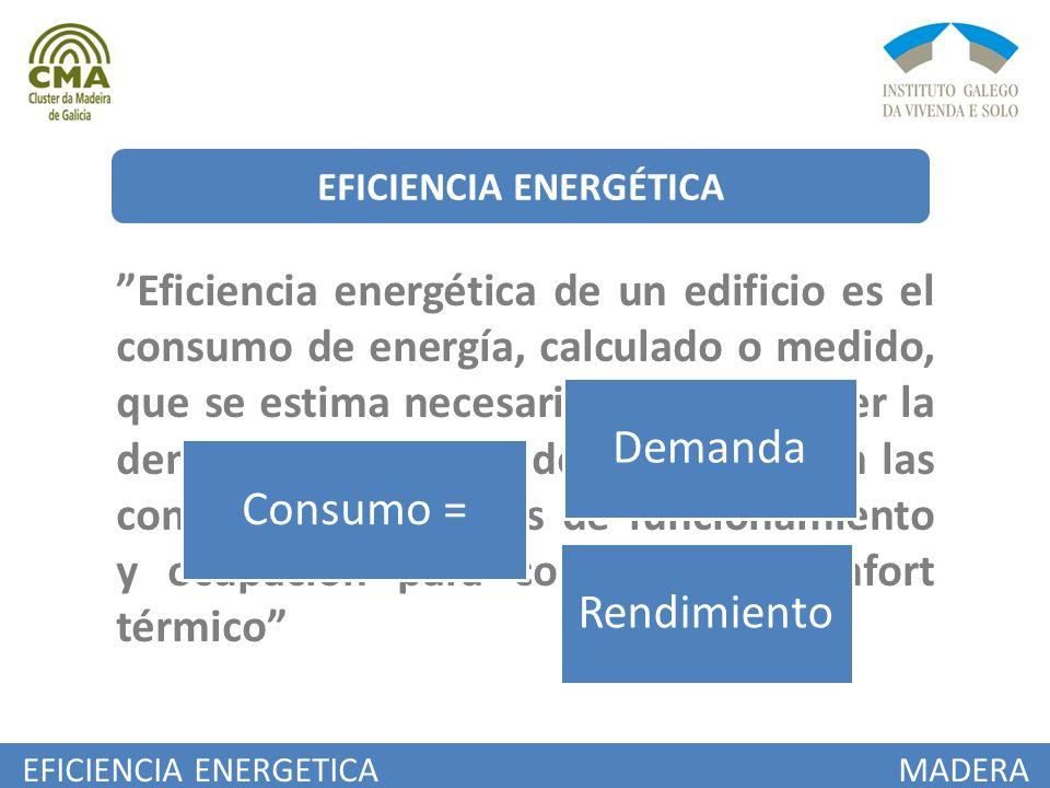 EFICIENCIA ENERGETICA MADERA