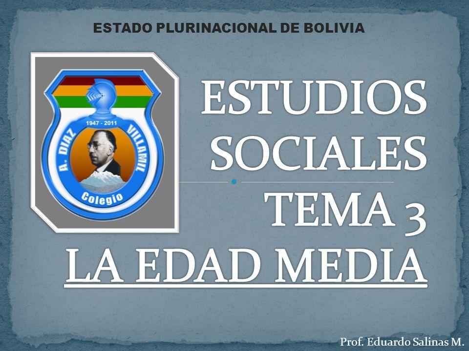 ESTUDIOS SOCIALES TEMA 3 LA EDAD MEDIA