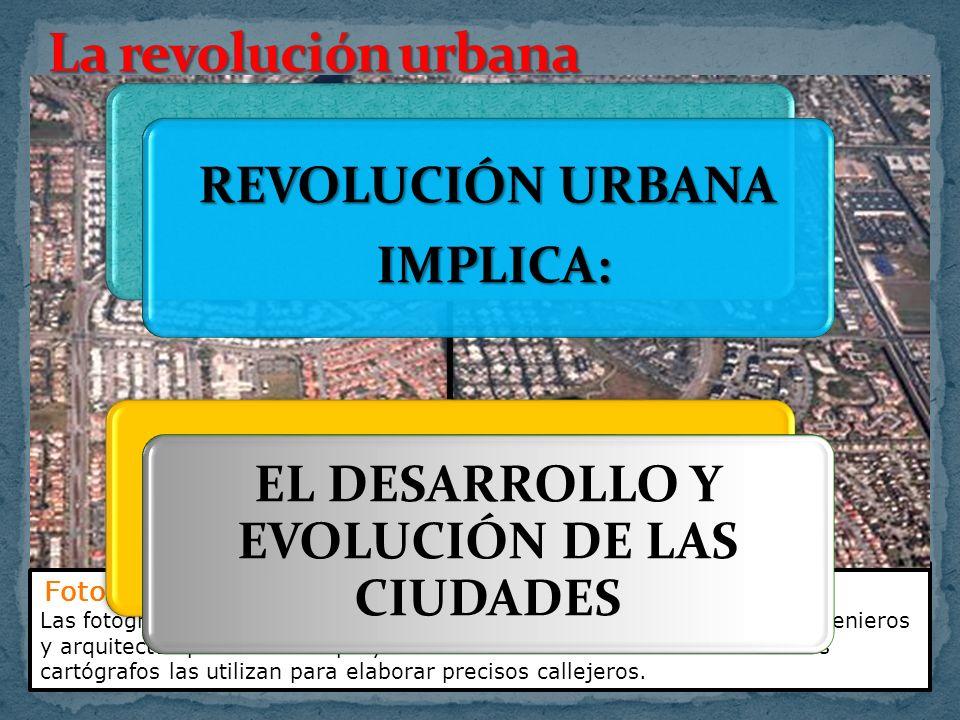 EL DESARROLLO Y EVOLUCIÓN DE LAS CIUDADES