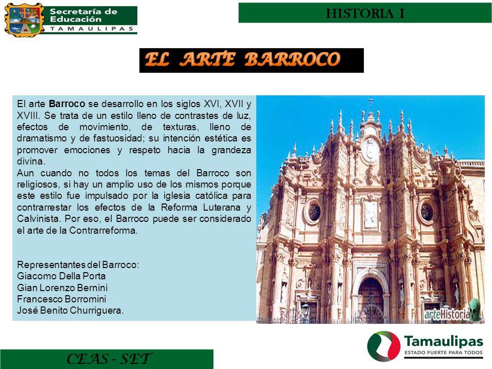 EL ARTE BARROCO HISTORIA I CEAS - SET