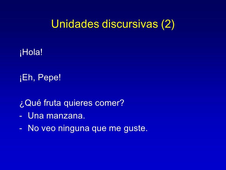 Unidades discursivas (2)
