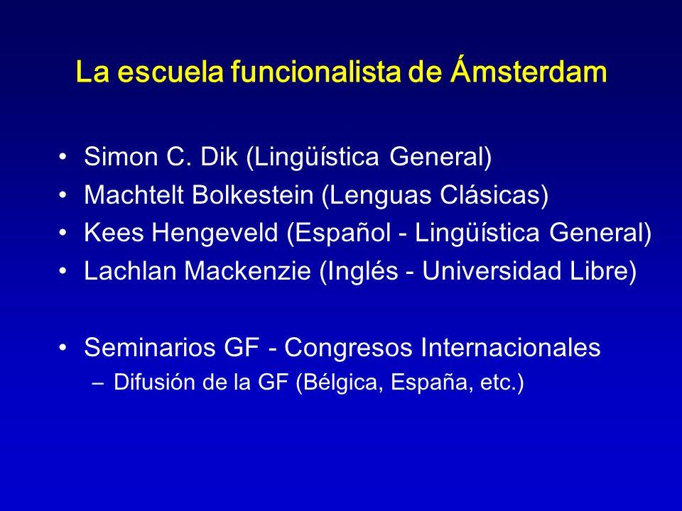 La escuela funcionalista de Ámsterdam