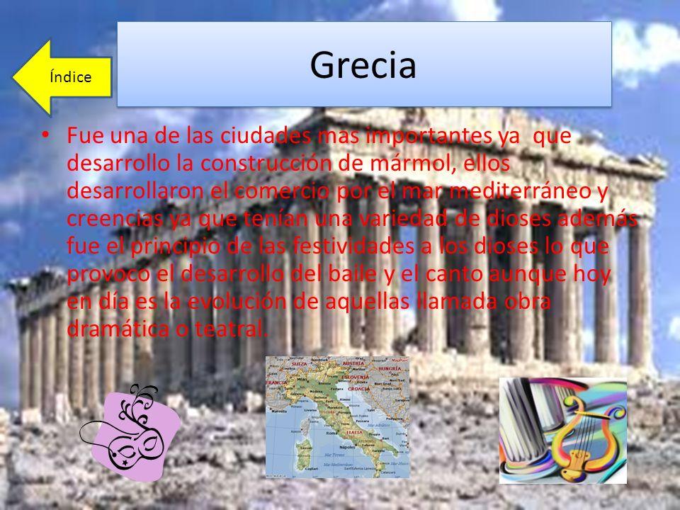 Grecia Índice.