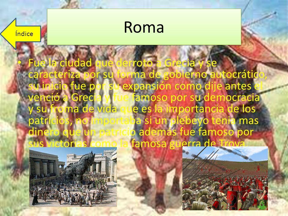 Roma Índice.