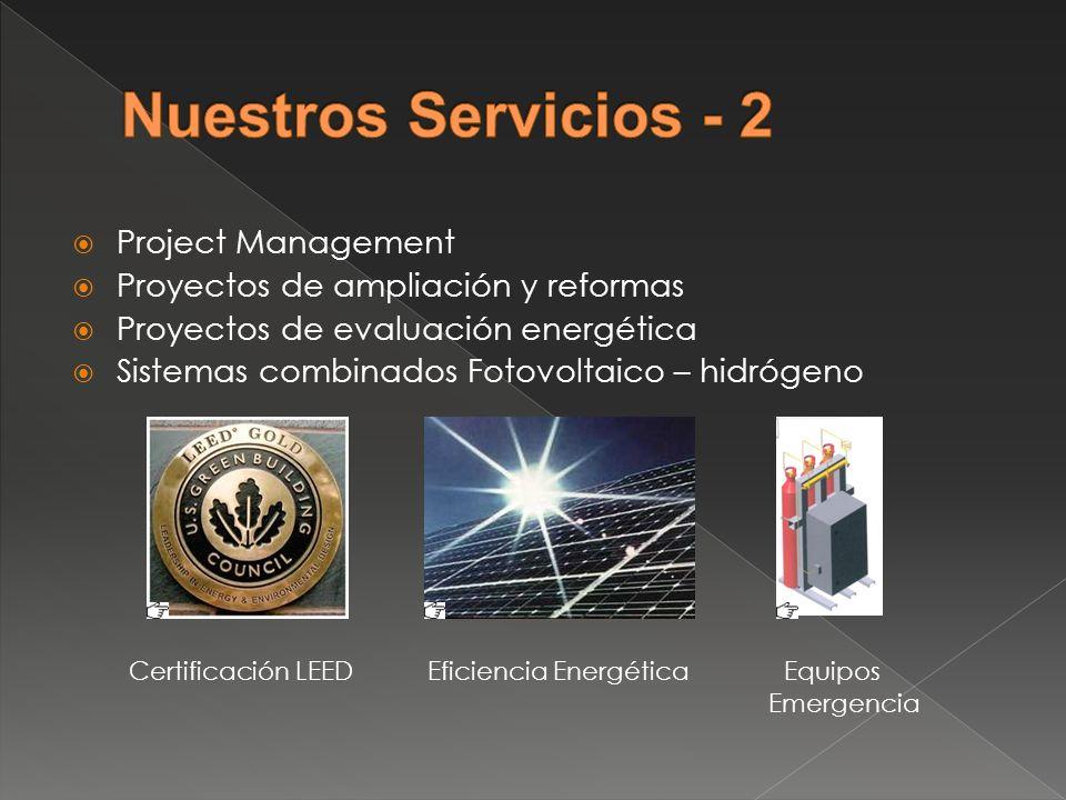 Nuestros Servicios - 2 Project Management