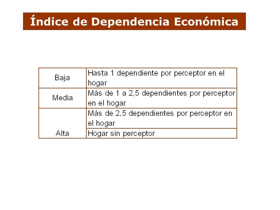 Índice de Dependencia Económica
