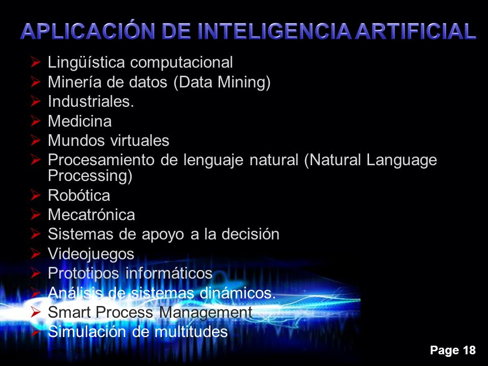 APLICACIÓN DE INTELIGENCIA ARTIFICIAL