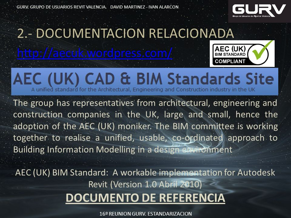 2.- DOCUMENTACION RELACIONADA http://aecuk.wordpress.com/