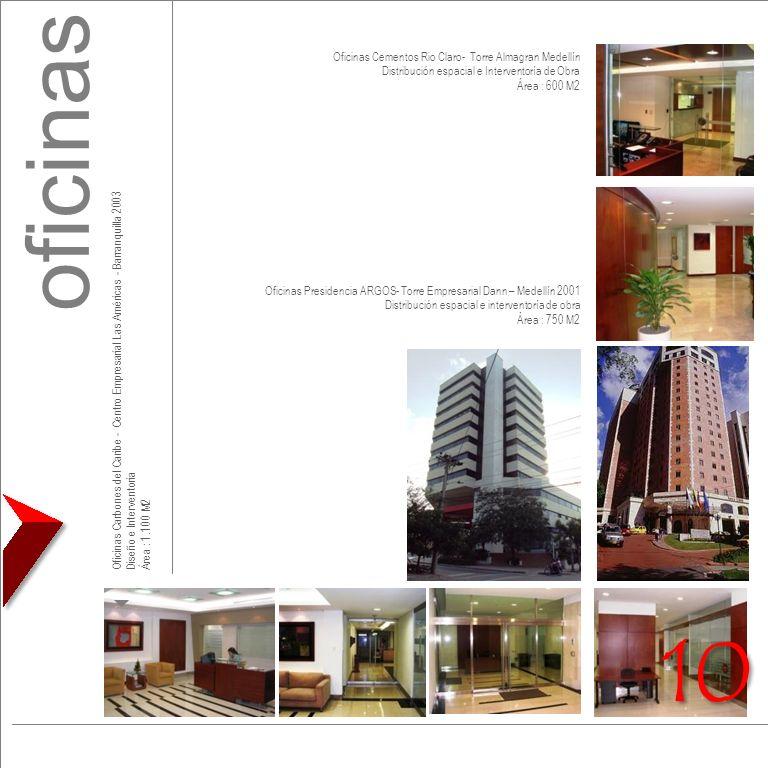 oficinas 10 Oficinas Cementos Rio Claro- Torre Almagran Medellín